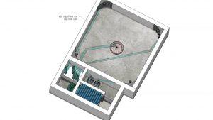 Thiết kế hệ thống đường ống hồ cá Koi căn bản
